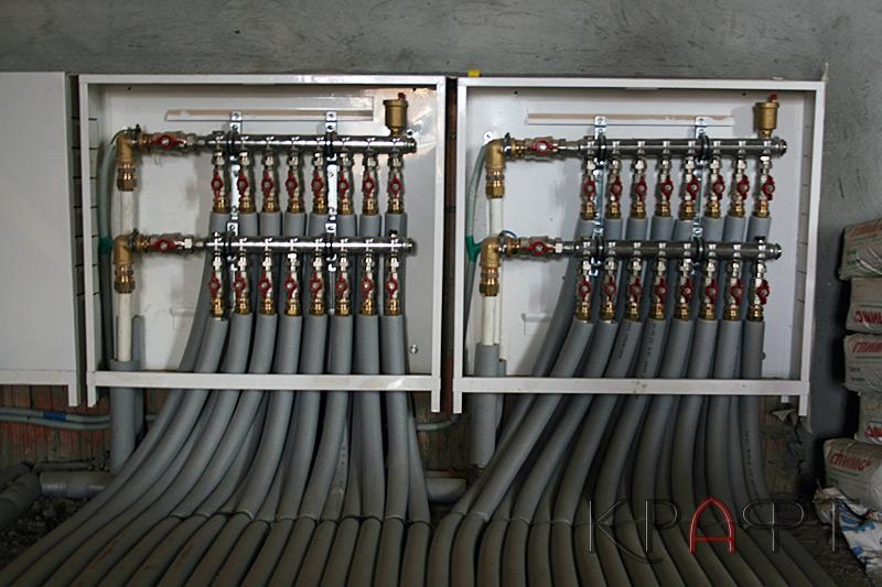 Коллекторы системы отопления
