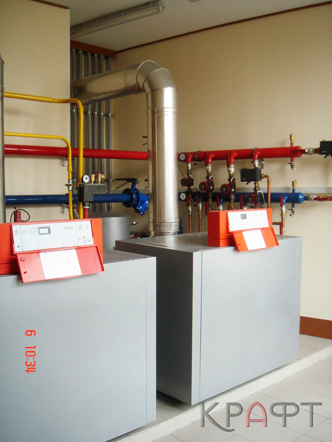 Многокотловая газовая установка VIESSMANN Vitogas 100F GS1D935